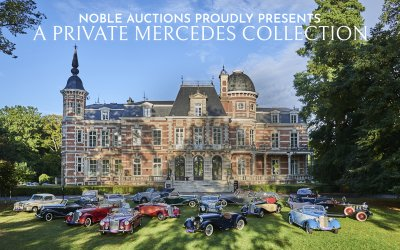 Noble Auctions Presents a Private Mercedes-Benz Collection